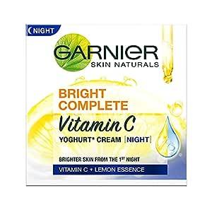 Garnier Bright Complete VITAMIN C YOGHURT Night Cream, 40g