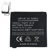 OCTelect Batteria Smartwatch Q18 batteria al litio ricaricabile con capacità di 500MAH