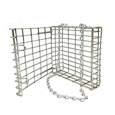 2PK Stainless Steel Suet Feeder from Droll Yankees, Inc