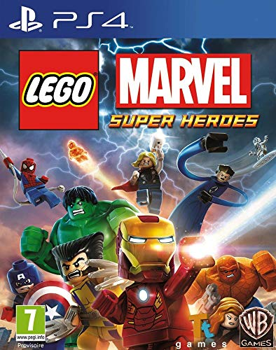 LEGO Marvel Super Heroes Jeu PS4 (Ps4 Hero Lego)