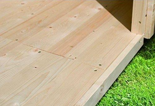 Fußboden Sockelmaß 372 x 462 cm