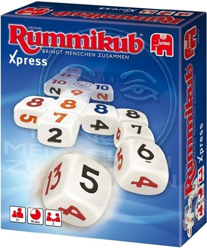 Jumbo Spiele 03972 - Original Rummikub Xpress