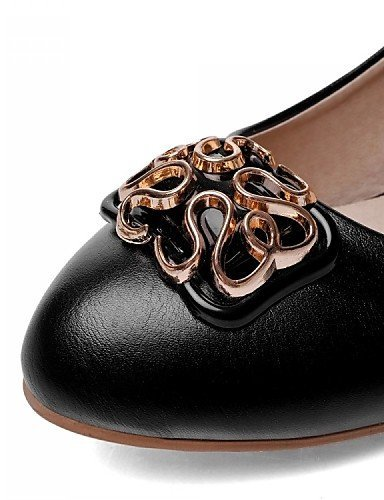 ShangYi Scarpe Donna - Mocassini - Ufficio e lavoro / Formale / Casual - Decolleté - Basso - Finta pelle - Nero / Rosa / Bianco / Beige Pink