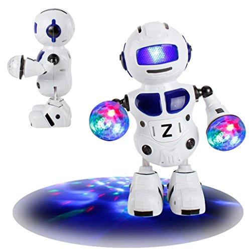 Toamen Électronique marchant Dansant Intelligent Bot robot Astronaute musique Éclairage Jouets
