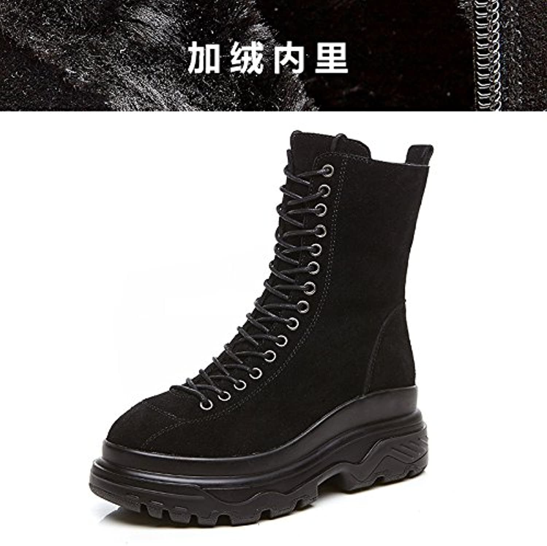 GUNAINDMX  WoHommes 'S Shoes/Autumn/Winter/New/Short Boots/Thick Bottom/Martin BootsB07BD5K2Z6Parent BootsB07BD5K2Z6Parent BootsB07BD5K2Z6Parent | Merveilleux  ae129d