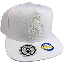 "GORRA REAL MADRID ""TRIBU-BLANCO"" JUNIOR"