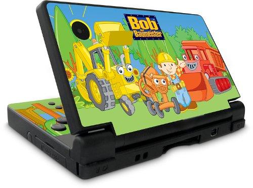 Design Folie Schutzfolie Skin Bob der Baumeister Maschinen für Nintendo DSi NDSi