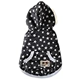 Pet Hunde Winter Warme Pullover Jacken Mantel Katzen Kleidung Kostüm Dot Weste - Stern , XL -