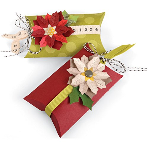 Sizzix Bigz Pro Fustella, Box Pillow & Poinsettias - 2