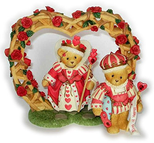 ENESCO Cherished Teddies King And Queen Of Hearts