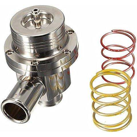 Yongse Universal 25MM Turbo desviador de recirculación volcado válvula de escape cromado