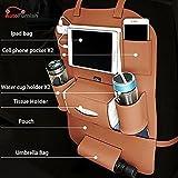 #10: Autofurnish 3D Car Auto Seat Back Multi Pocket Storage Bag Organizer Holder Hanger Accessory