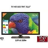 Amazon.es: tv portatil hd - Televisores / TV, vídeo y home cinema ...