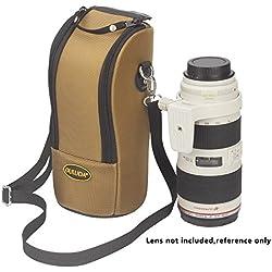 Étui de protection pour objectif DSLR avec bandoulière pour appareil photo DLD-K Lens pour Canon 70-200/2.8 / Nikon 70-200/2.8