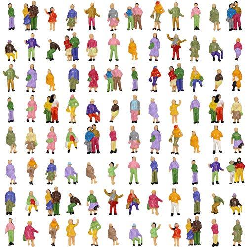 P150W Neu 100 × verschiedene Figuren Spur N 11mm (N Modelleisenbahn Spur)