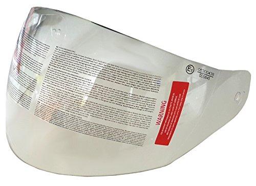 MIM Distribution Visiera di Ricambio per caschi Jet Tucano helmo skap cgm Trasparent