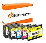Bubprint 5 Druckerpatronen kompatibel für HP 953XL für OfficeJet Pro 7740 WF 8200 Series 8210 8216 8218 8710 8715 8718 8719 8720 8725 8730 8740
