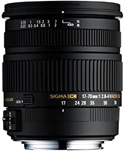 Sigma 17-70 mm F2,8-4,0 DC Makro HSM-Objektiv (72 mm Filtergewinde) für Sony Objektivbajonett