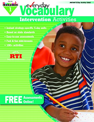 Everyday Vocabulary Intervention Activities Grade 1 (Eia)