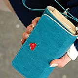 Best Broadfashion Womens Wallets - Women's Fashion Envelope Wallet Purse Phone Case Review