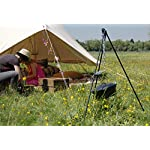 HomeZone® Portable Camping Tripod Set | Cooking, Drying Clothes, Pot Roast, Dutch Oven | Outdoor Picnic Camping BBQ… 9
