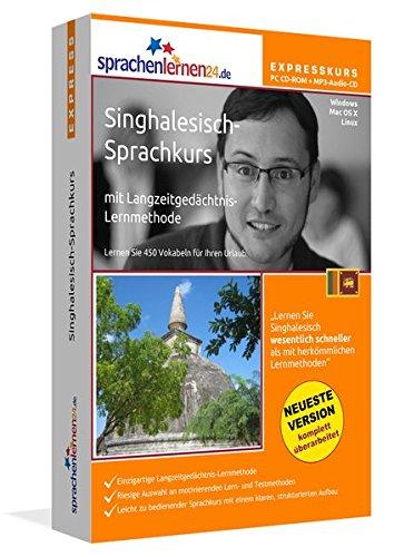 Singhalesisch-Expresskurs mit Langzeitgedächtnis-Lernmethode von Sprachenlernen24.de: In wenigen...