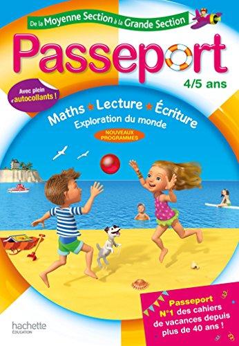 Passeport de la Moyenne Section à la Grande Section 4/5 ans par Marie-Christine Exbrayat