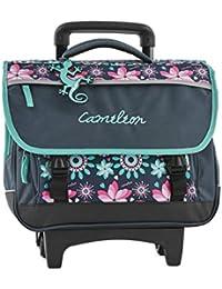 Cartable à roulettes 38cm Caméléon idéal pour le CP, CE1 et CE2 - Sac scolaire trolley disponible en 4 coloris pour fille et garçon