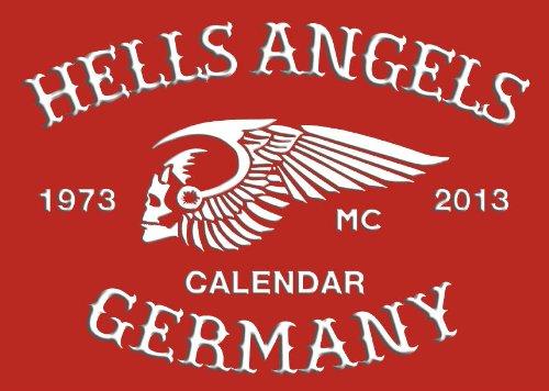 HELLS ANGELS CALENDAR 2013