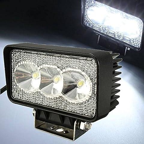Mark8shop 9W Lampada 3 LED di luce Spot nebbia Driving Lampada per camion Offroad ATV SUV
