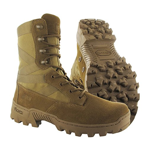 Hi-Tec–Magnum Spartan XTB Coyote giungla djungle Boots Stivali inserto Beige Coyote