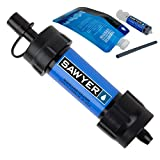 Sawyer Mini sistema di filtraggio acqua PointONE filter Outdoor & Trekking (blu)