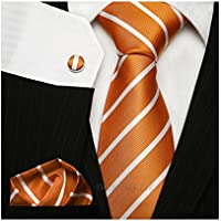 TNS classica sottile a righe cravatta UK–Gemelli fazzoletto