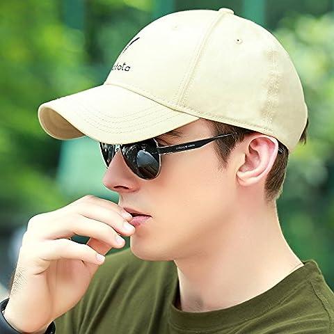 Dngy*Cappelli uomini cappello da baseball maschio invernale di cotone puro