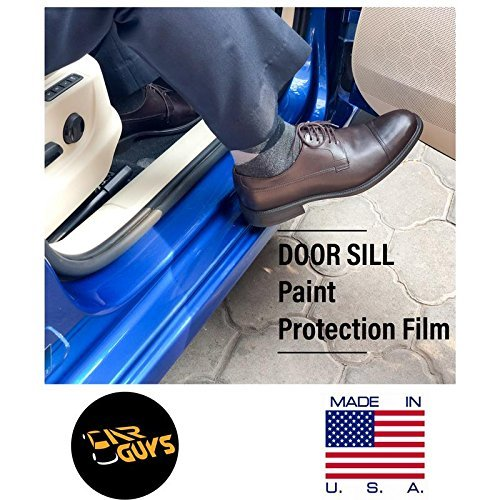Car Guys Saint Gobain PPF Door Sill Guard Paint Protection Kit for All Cars (8 x 70 cm, Transparent) -2 Pieces