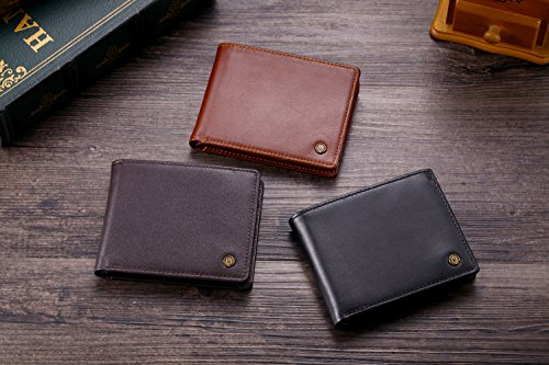 51RmjNHOWgL - Cronus & Rhea® | Luxury Money Clip Exclusive Leather (Ladon) | Card Holder - Card Case - Purse - Wallet | Real leather | With elegant gift box | Men - Women