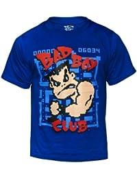 Bad Boy Gamer T Shirt Large (11/12 Years ) Bleu - Camiseta / Camisa deportivas para niño, color azul, talla UK: Large (11/12 Years)