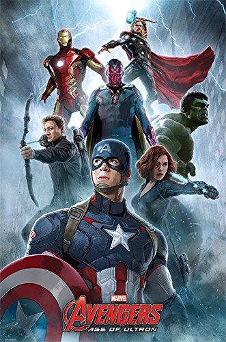 Avengers-Age-of-Ultron-Encounter-Maxi-Poster-mehrfarbig