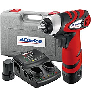 ACDelco Tools ARI810-2 Li-ion 8V Impact Wrench, 1/4-Inch by ACDelco Tools