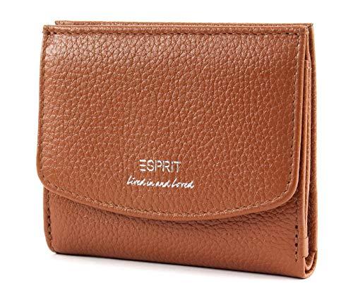 ESPRIT Mini-Geldbörse aus Leder