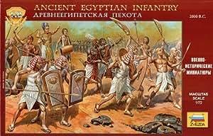 Zvezda Models Ancient Egyptian Infantry Kit by MMD Holdings, LLC