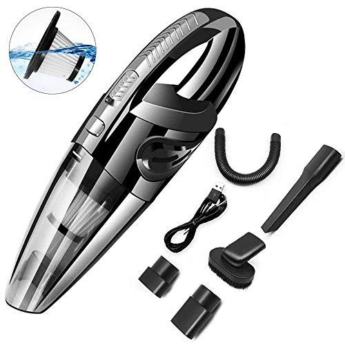 aspirabriciole senza fili DokFin 120W aspirapolvere portatile potente usb ricaricabile mini con forte aspirazione uso asciutto bagnato per casa auto