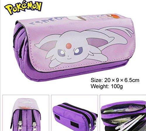 Kids Craze Reino Unido Espeon Pokemon estuche dos compartimentos