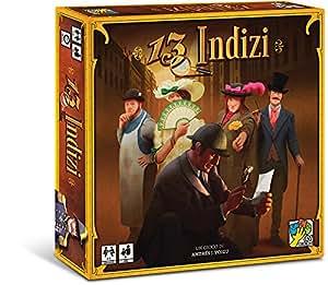 DV Giochi DVG9330 - 13 Indizi, Gioco da Tavolo di Deduzione e Investigazione