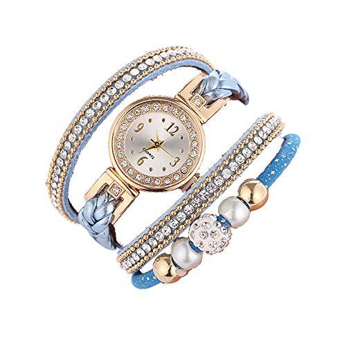 LILIHOT SchöNe Mode Armbanduhr Damenuhr Runde Armbanduhr Damen Uhren Analog Armbanduhren Minimalistisch Mit Edelstahl Wasserdicht UltradüNne Frauen Silica Gel Mesh GüRtel Casual Watch -