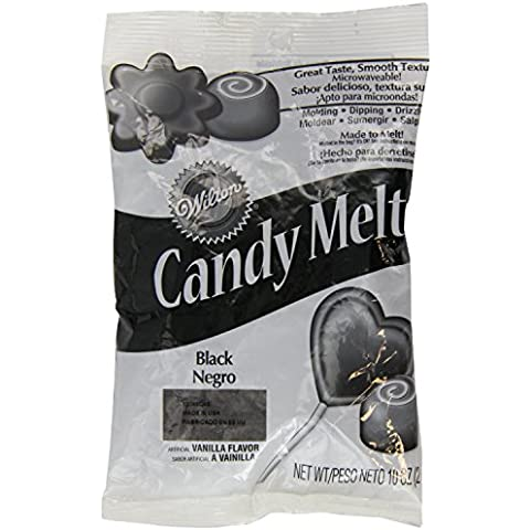Wilton Candy Wafer Melts, Black by Wilton