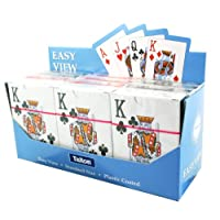 Atlona Tallon Games Plastic Coated Easy View Playing Cards