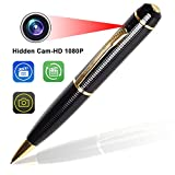 Hidden Pen Spy Camera - Bysameyee Wireless Covert Camera Mini PenCam HD 1080P, videoregistratore portatile con registratore a penna DVR