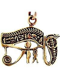 Ojo de Horus colgante de bronce nº 6A