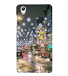 Vizagbeats City Scape Back Case Cover for Oppo A37